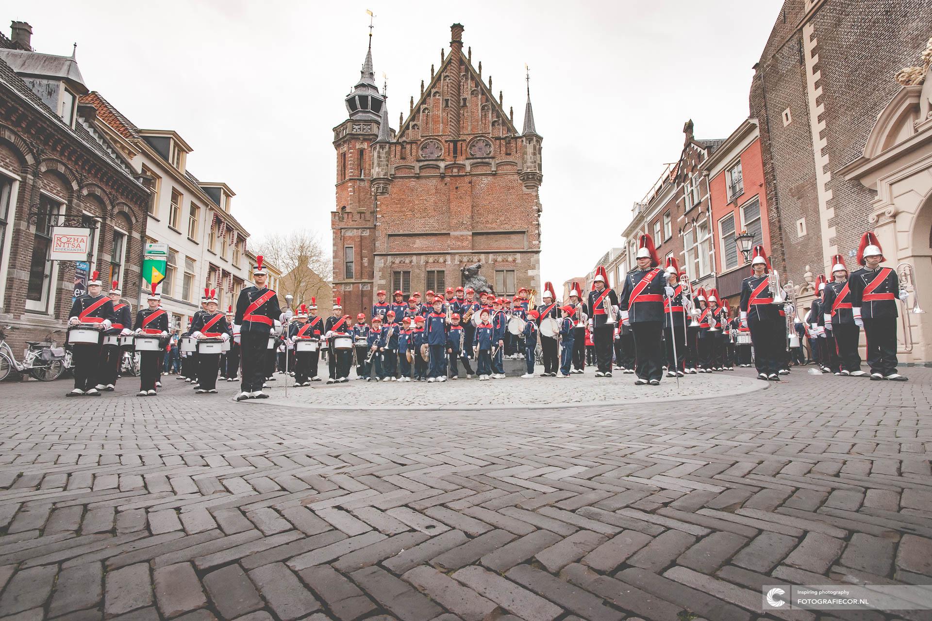 Vereniging | Showband | Kamper Trompetter Korps | fotograaf © fotografiecor.nl | Ledenvergadering