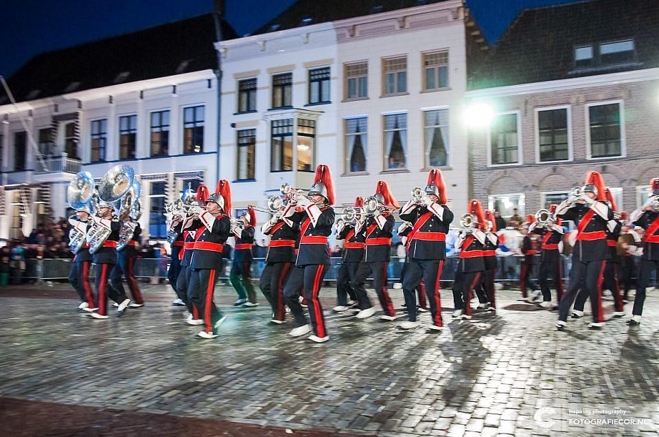 KTK en Kamper Oranje Vereniging organiseren 39e editie van Taptoe Kampen