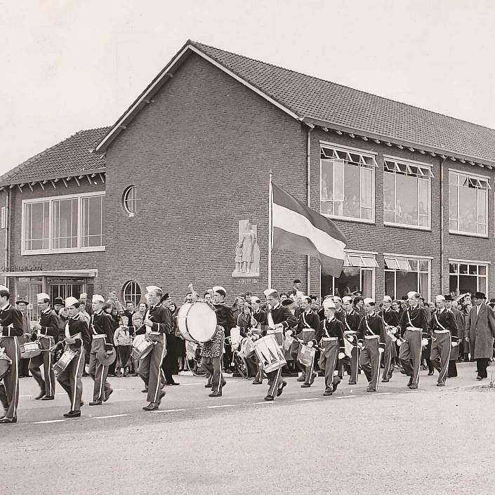 Jeugd Verkeers Brigade | KTK | Kampen | archief | historie | oude foto's | JVB | Opening School