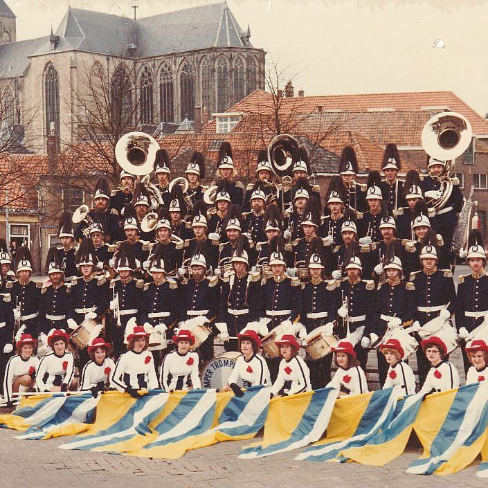 Jeugd Verkeers Brigade | KTK | Kampen | archief | historie | oude foto's | Bovenkerk | oorgat