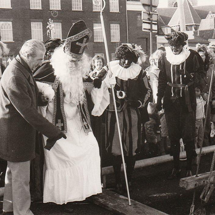 Jeugd Verkeers Brigade | KTK | Kampen | archief | historie | oude foto's | Intocht Sinterklaas