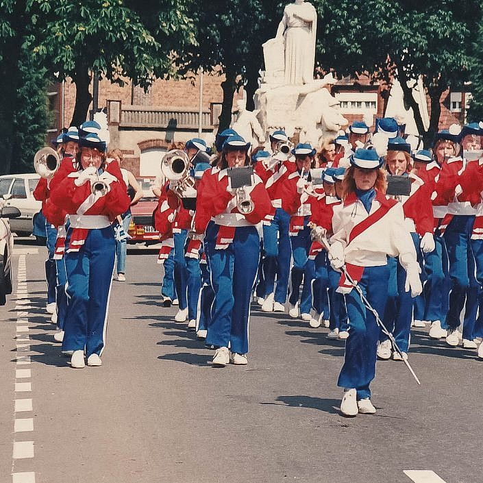 Jeugd Verkeers Brigade | KTK | Kampen | archief | historie | oude foto's | DJT | cowboy uniform