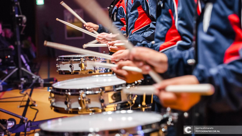 KTK Music Kidz | slagwerk | trommel spelen | Kamper Trompetter Korps | © Fotografiecor.nl