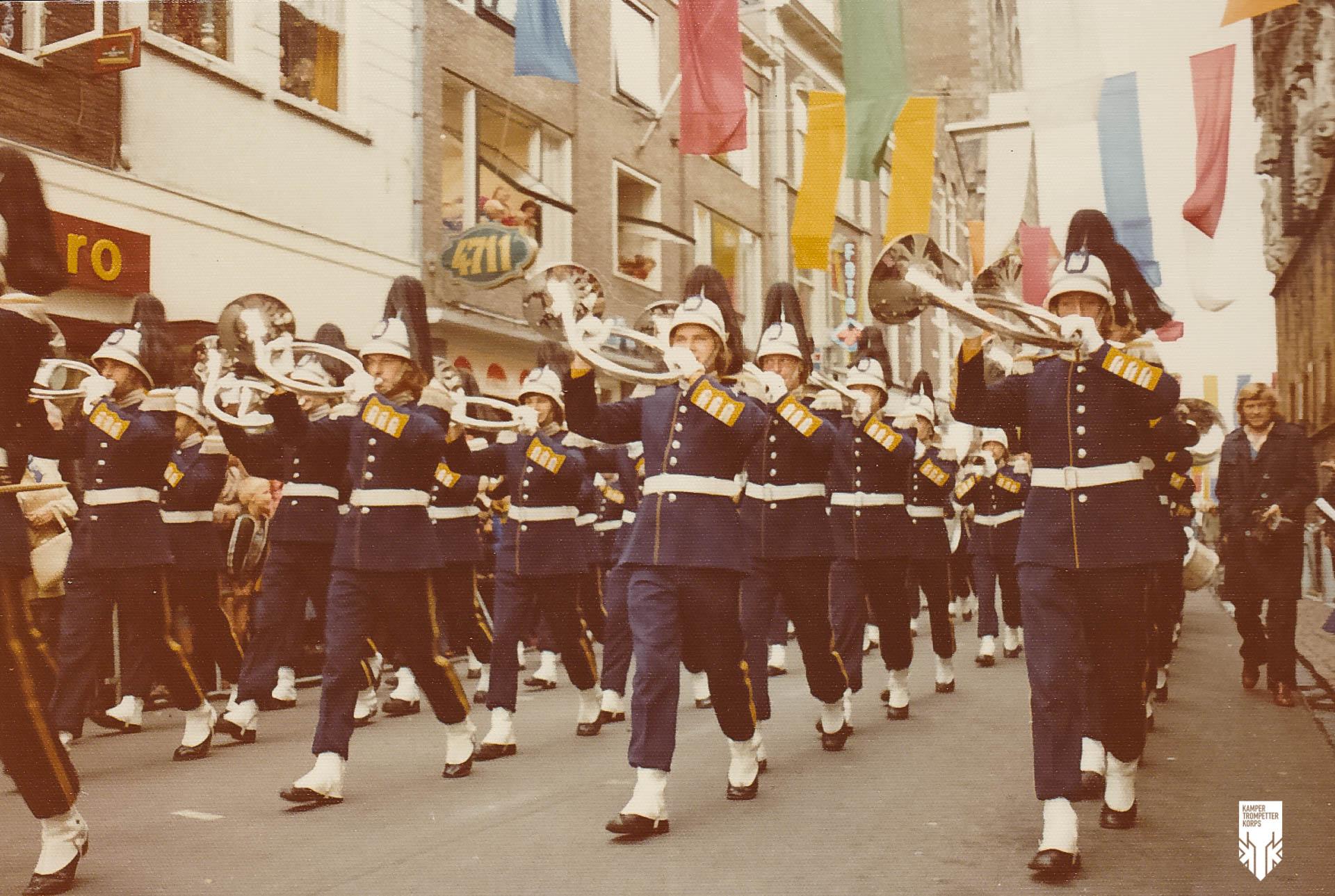 Jeugd Verkeers Brigade | KTK | Kampen | archief | historie | oude foto's | Jachthoornkorps | 1976