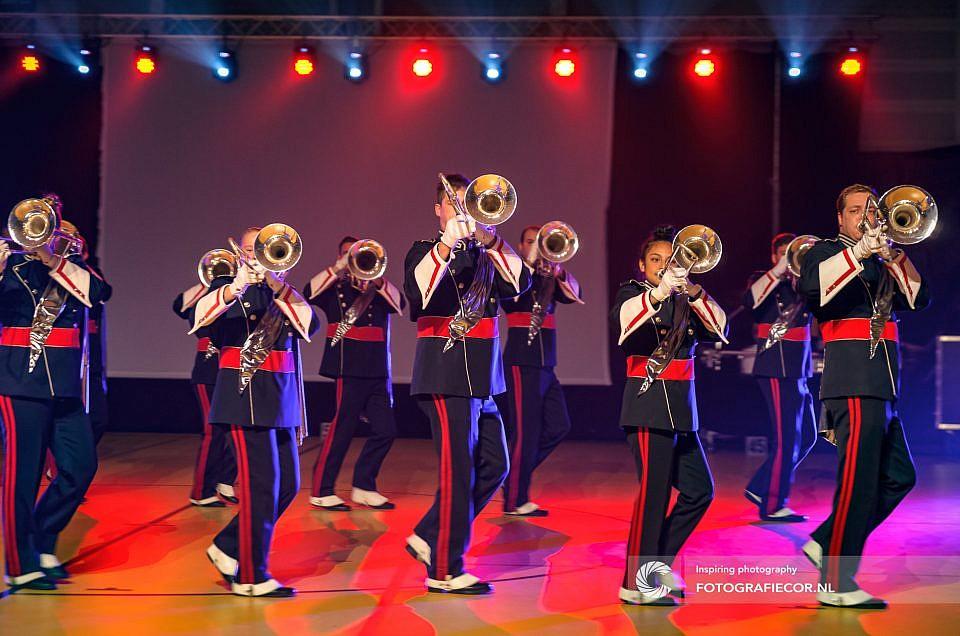 Spectaculaire contactavond van het Kamper Trompetter Korps
