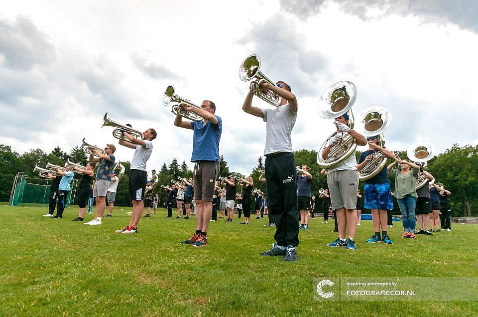 Kom naar de open repetitie van het Kamper Trompetter Korps