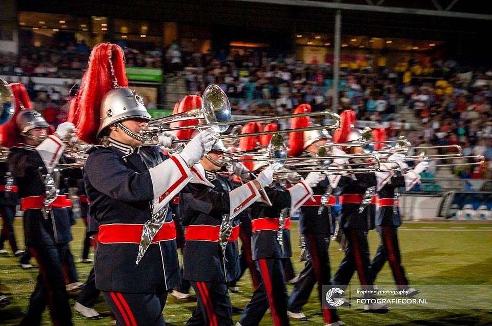 Nieuwjaarsreceptie bij het Kamper Trompetter Korps